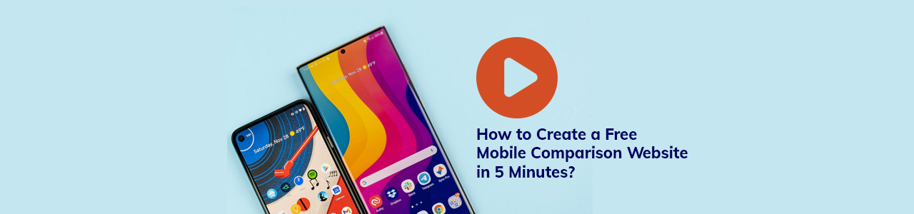 How to create a UK mobile comparison website in 5 minutes.