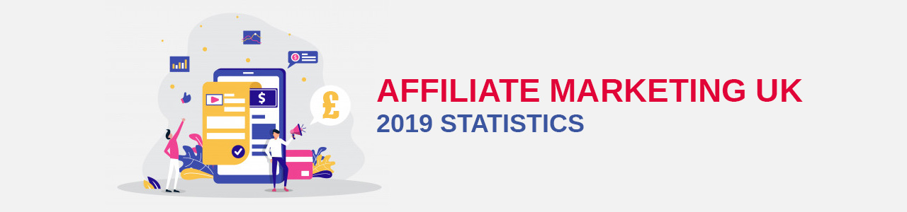 Affiliate Marketing UK Stats 2019 Infographic.
