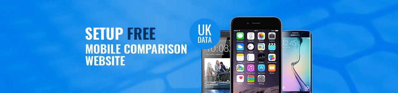 Setup Free UK Mobile Phone Comparison Website