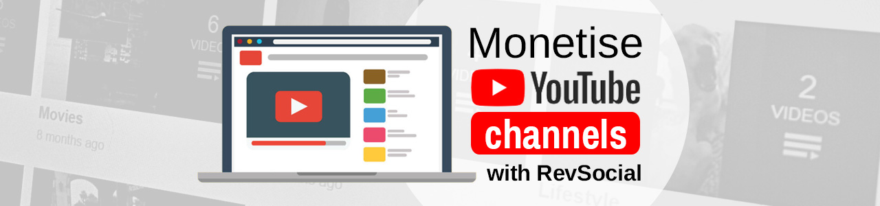 Monetise your YouTube channels and reviews with RevSocial