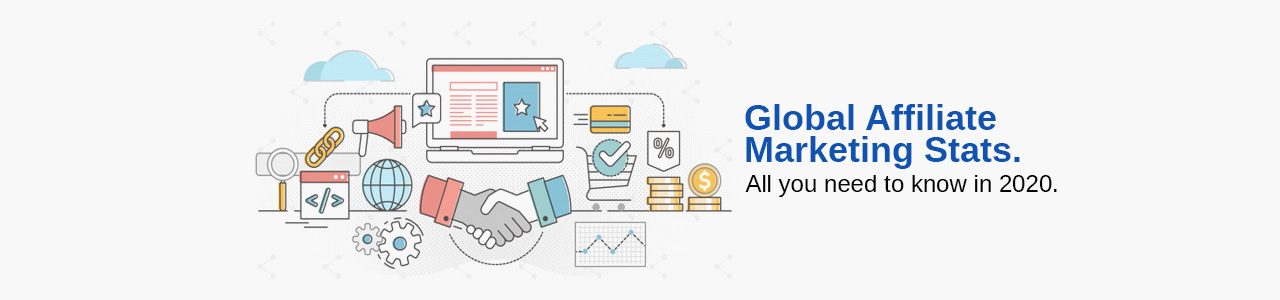 Global Affiliate Marketing Stats 2020 infographic.