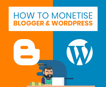 How to monetise Blogger & WordPress websites with RevGlue tools.