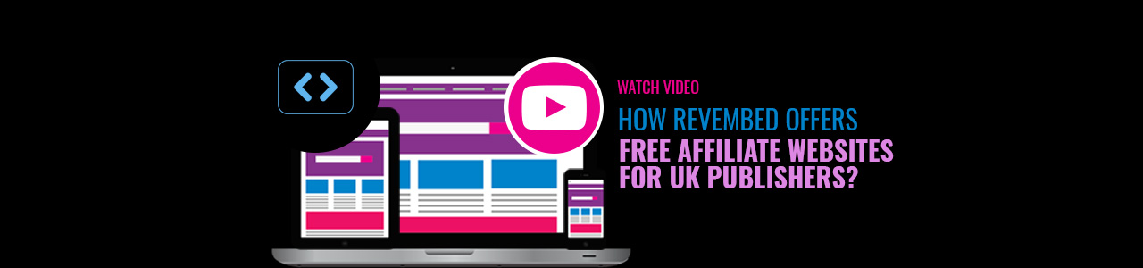 Free and instant affiliate websites | RevEmbed