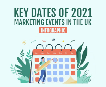 2021 marketing promotional calender in the UK.