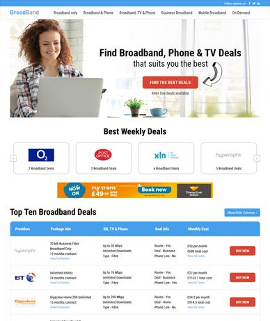 Broadband & TV Blue
