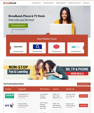 Broadband & TV Orange
